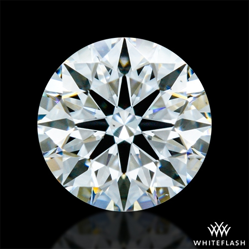 0.607 ct F VS2 A CUT ABOVE® Hearts and Arrows Super Ideal Round Cut Loose Diamond