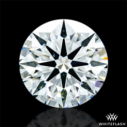 0.94 ct J SI1 A CUT ABOVE® Hearts and Arrows Super Ideal Round Cut Loose Diamond