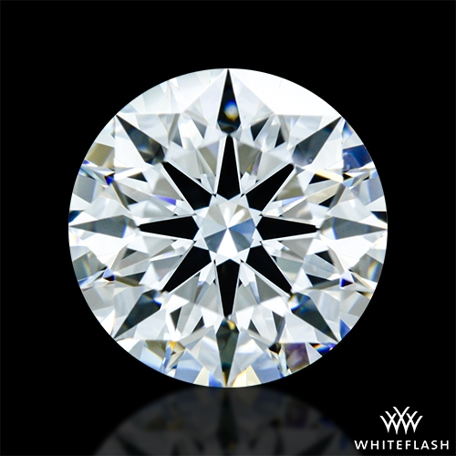 1.333 ct E VVS2 A CUT ABOVE® Hearts and Arrows Super Ideal Round Cut Loose Diamond