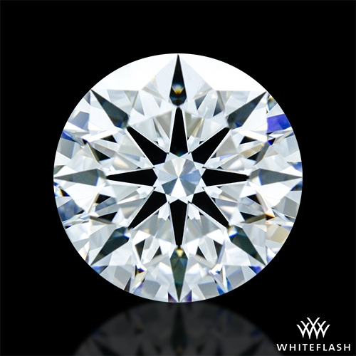 1.457 ct D VVS1 A CUT ABOVE® Hearts and Arrows Super Ideal Round Cut Loose Diamond