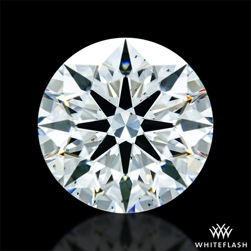 1.466 ct G SI1 A CUT ABOVE® Hearts and Arrows Super Ideal Round Cut Loose Diamond