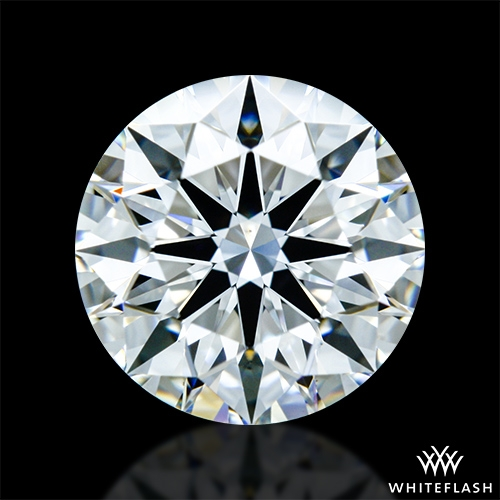 1.183 ct F VS1 A CUT ABOVE® Hearts and Arrows Super Ideal Round Cut Loose Diamond
