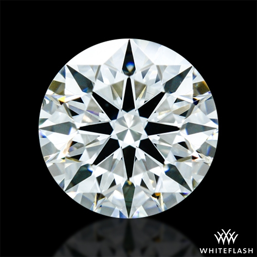 0.822 ct J SI1 A CUT ABOVE® Hearts and Arrows Super Ideal Round Cut Loose Diamond