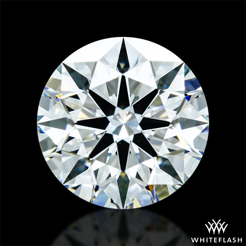 0.857 ct I VS2 A CUT ABOVE® Hearts and Arrows Super Ideal Round Cut Loose Diamond
