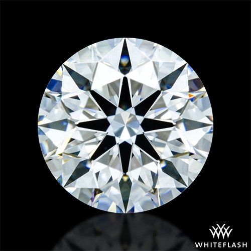 0.916 ct E VS1 A CUT ABOVE® Hearts and Arrows Super Ideal Round Cut Loose Diamond