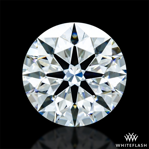 0.953 ct F VS1 A CUT ABOVE® Hearts and Arrows Super Ideal Round Cut Loose Diamond