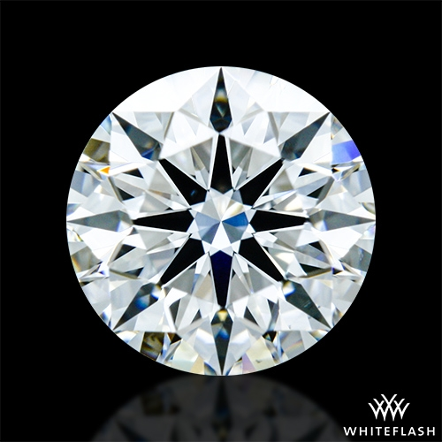 0.927 ct F VS1 A CUT ABOVE® Hearts and Arrows Super Ideal Round Cut Loose Diamond
