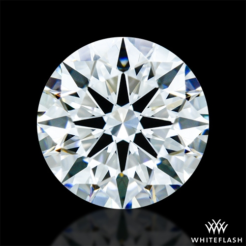 0.818 ct E VVS1 A CUT ABOVE® Hearts and Arrows Super Ideal Round Cut Loose Diamond