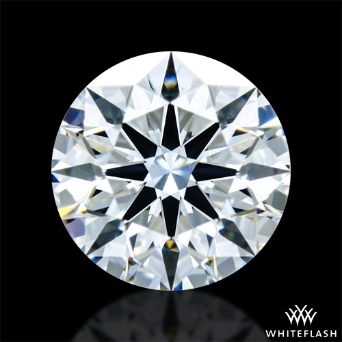 0.432 ct F VS1 A CUT ABOVE® Hearts and Arrows Super Ideal Round Cut Loose Diamond