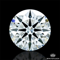 1.098 ct J VS2 A CUT ABOVE® Hearts and Arrows Super Ideal Round Cut Loose Diamond
