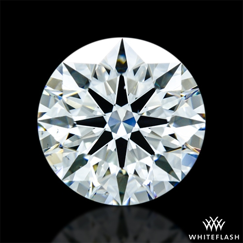 1.342 ct J VS2 A CUT ABOVE® Hearts and Arrows Super Ideal Round Cut Loose Diamond
