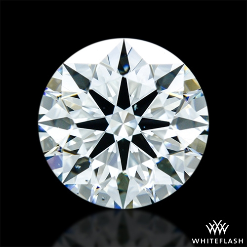 1.022 ct J VS2 A CUT ABOVE® Hearts and Arrows Super Ideal Round Cut Loose Diamond