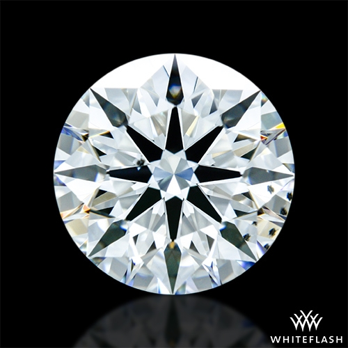 2.074 ct H SI1 A CUT ABOVE® Hearts and Arrows Super Ideal Round Cut Loose Diamond