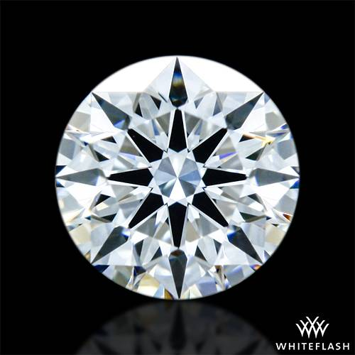 0.347 ct F VS1 A CUT ABOVE® Hearts and Arrows Super Ideal Round Cut Loose Diamond