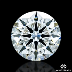 0.753 ct J VS2 A CUT ABOVE® Hearts and Arrows Super Ideal Round Cut Loose Diamond