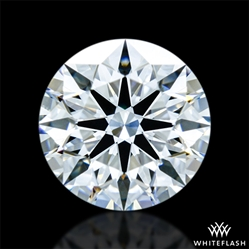 0.814 ct F VS2 A CUT ABOVE® Hearts and Arrows Super Ideal Round Cut Loose Diamond