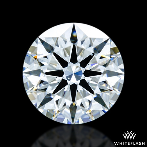 1.248 ct E VS1 A CUT ABOVE® Hearts and Arrows Super Ideal Round Cut Loose Diamond