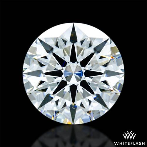 1.402 ct G VS2 A CUT ABOVE® Hearts and Arrows Super Ideal Round Cut Loose Diamond