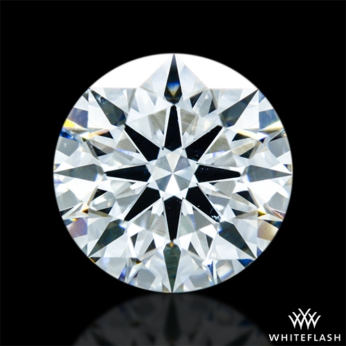 1.086 ct H VS2 A CUT ABOVE® Hearts and Arrows Super Ideal Round Cut Loose Diamond