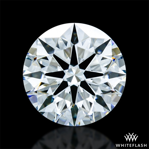 1.374 ct H VS1 A CUT ABOVE® Hearts and Arrows Super Ideal Round Cut Loose Diamond