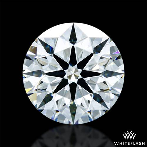1.365 ct G VS1 A CUT ABOVE® Hearts and Arrows Super Ideal Round Cut Loose Diamond