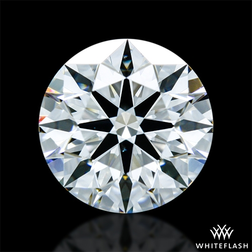 1.117 ct H VS2 A CUT ABOVE® Hearts and Arrows Super Ideal Round Cut Loose Diamond
