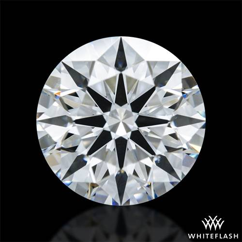 0.712 ct E SI1 A CUT ABOVE® Hearts and Arrows Super Ideal Round Cut Loose Diamond