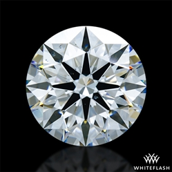 2.062 ct G SI1 A CUT ABOVE® Hearts and Arrows Super Ideal Round Cut Loose Diamond