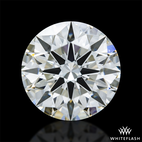 0.908 ct J VVS2 A CUT ABOVE® Hearts and Arrows Super Ideal Round Cut Loose Diamond