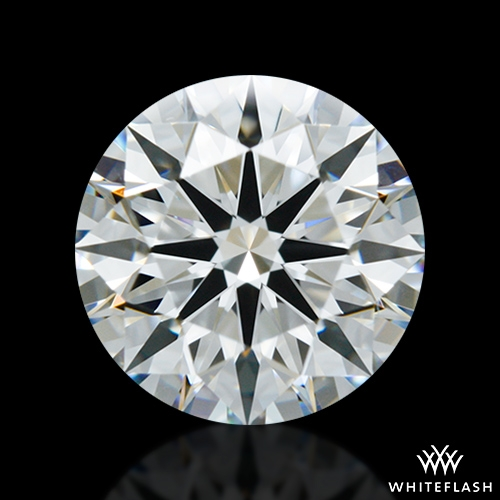 1.297 ct H VVS1 A CUT ABOVE® Hearts and Arrows Super Ideal Round Cut Loose Diamond