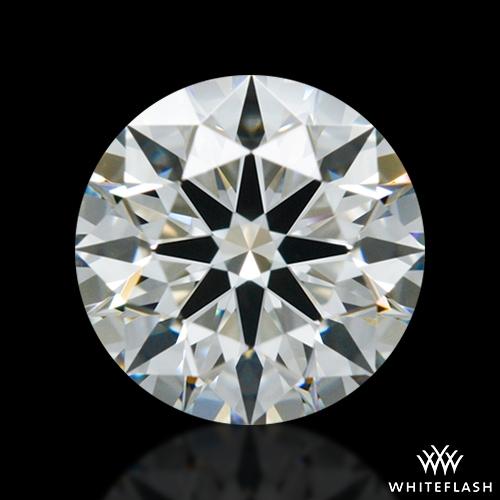 0.651 ct I VVS2 A CUT ABOVE® Hearts and Arrows Super Ideal Round Cut Loose Diamond