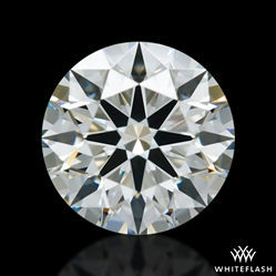 0.651 ct I VVS2 A CUT ABOVE® Hearts and Arrows Super Ideal Round Cut Loose Diamond