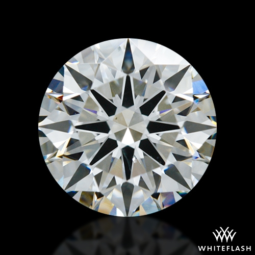 1.522 ct H SI1 A CUT ABOVE® Hearts and Arrows Super Ideal Round Cut Loose Diamond