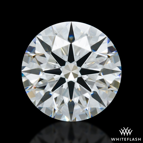 1.037 ct E VVS1 A CUT ABOVE® Hearts and Arrows Super Ideal Round Cut Loose Diamond