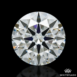 0.763 ct H VS2 A CUT ABOVE® Hearts and Arrows Super Ideal Round Cut Loose Diamond