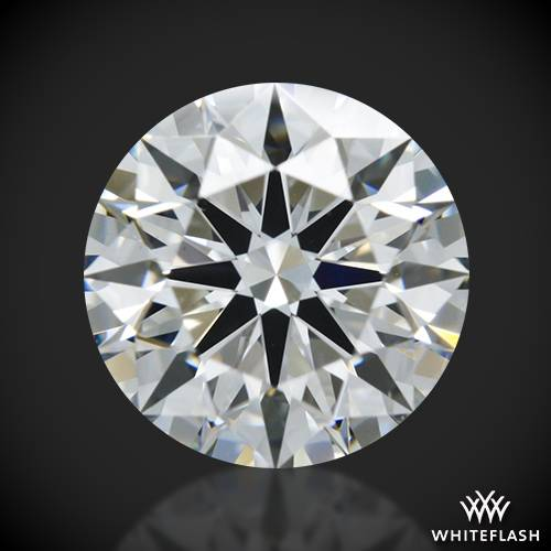1.056 ct F VS1 A CUT ABOVE® Hearts and Arrows Super Ideal Round Cut Loose Diamond