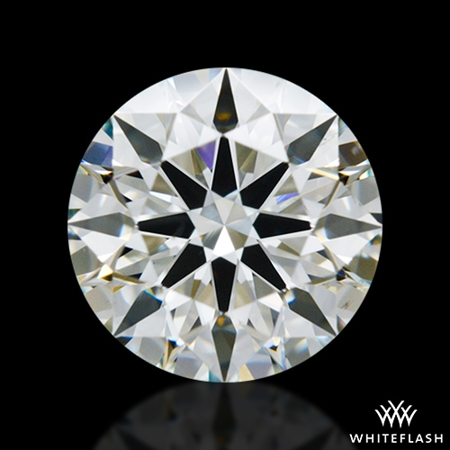 1.217 ct J VS2 A CUT ABOVE® Hearts and Arrows Super Ideal Round Cut Loose Diamond