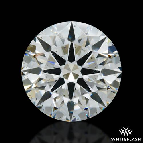 0.764 ct H SI1 A CUT ABOVE® Hearts and Arrows Super Ideal Round Cut Loose Diamond