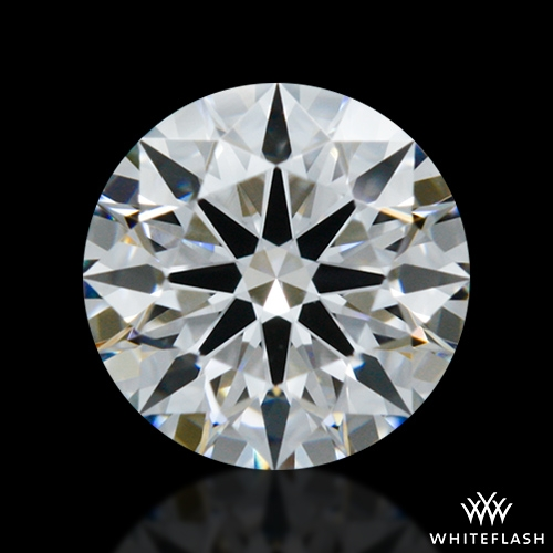 0.531 ct D VS2 A CUT ABOVE® Hearts and Arrows Super Ideal Round Cut Loose Diamond