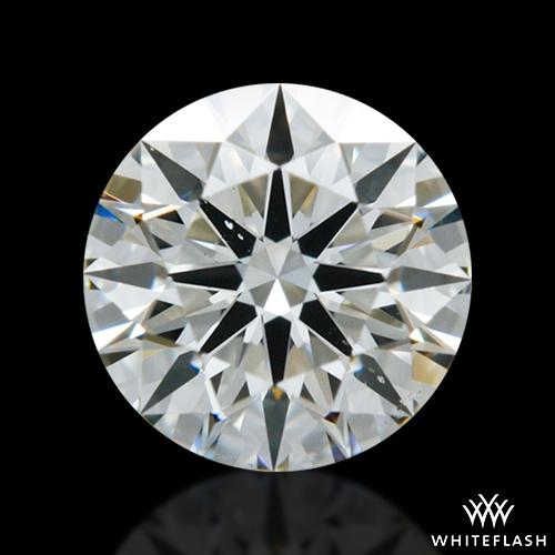 0.543 ct I VS2 A CUT ABOVE® Hearts and Arrows Super Ideal Round Cut Loose Diamond