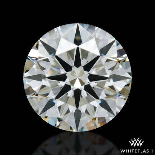 0.59 ct I VS2 A CUT ABOVE® Hearts and Arrows Super Ideal Round Cut Loose Diamond