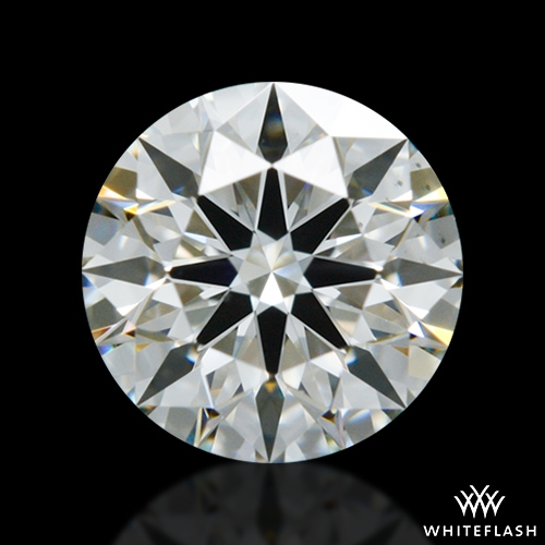 0.597 ct I VS2 A CUT ABOVE® Hearts and Arrows Super Ideal Round Cut Loose Diamond
