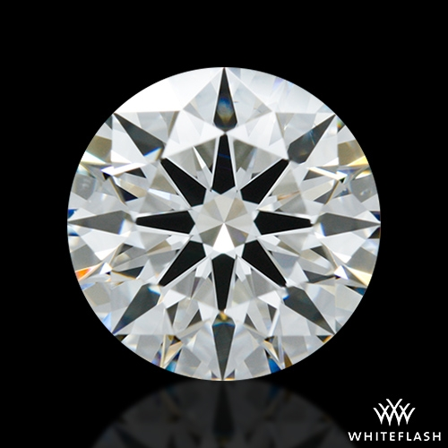 1.388 ct G VS2 A CUT ABOVE® Hearts and Arrows Super Ideal Round Cut Loose Diamond