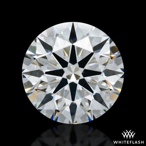 0.952 ct F VS1 A CUT ABOVE® Hearts and Arrows Super Ideal Round Cut Loose Diamond