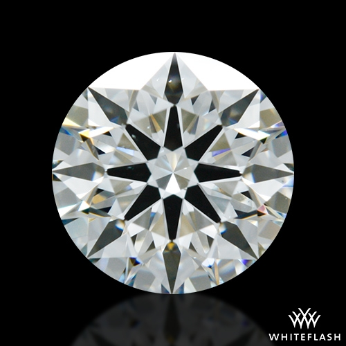 1.294 ct H VS2 A CUT ABOVE® Hearts and Arrows Super Ideal Round Cut Loose Diamond