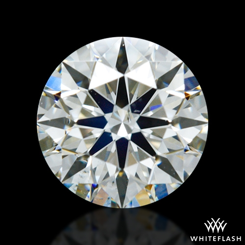 0.526 ct H SI1 A CUT ABOVE® Hearts and Arrows Super Ideal Round Cut Loose Diamond