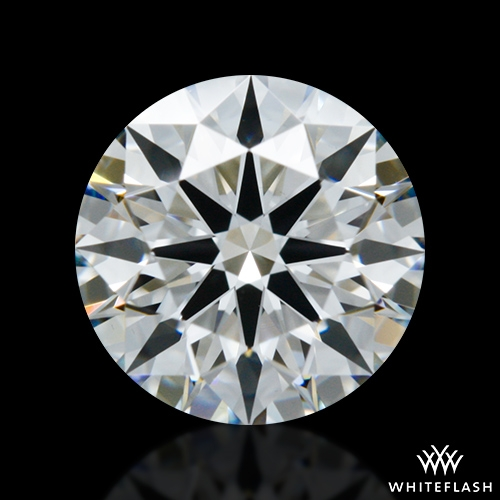 0.938 ct F VS1 A CUT ABOVE® Hearts and Arrows Super Ideal Round Cut Loose Diamond