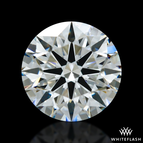 0.726 ct F VS1 A CUT ABOVE® Hearts and Arrows Super Ideal Round Cut Loose Diamond