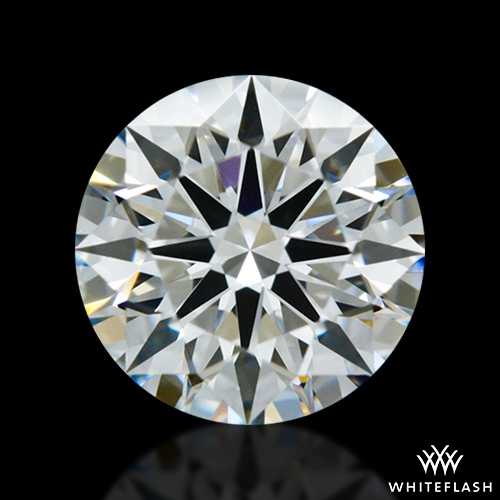 0.74 ct F VS2 A CUT ABOVE® Hearts and Arrows Super Ideal Round Cut Loose Diamond