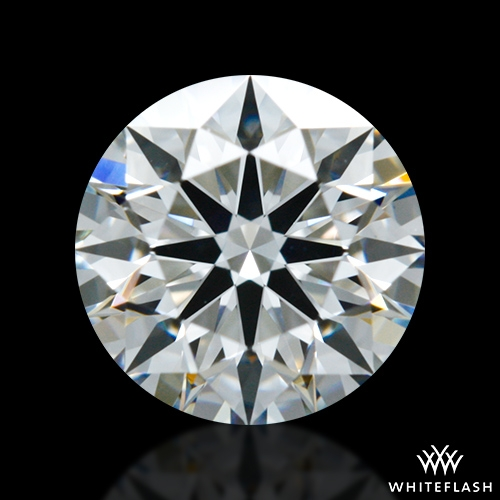 0.703 ct E VS2 A CUT ABOVE® Hearts and Arrows Super Ideal Round Cut Loose Diamond